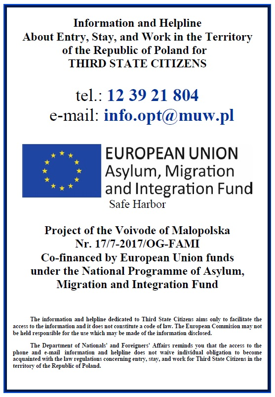 Locations of foreigner service centres in maopolska stopboris Images